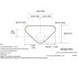 Drawing of bridge slider plate
